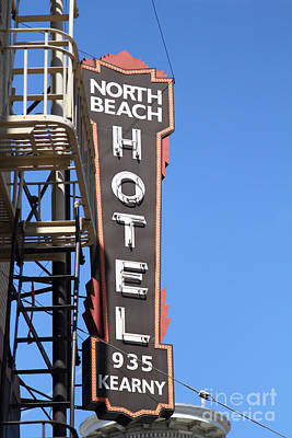 Photograph - North Beach Hotel San Francisco by Wingsdomain Art and Photography