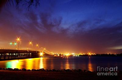 Photograph - North Bridge At Night by Don Youngclaus