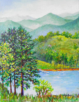 Painting - North Carolina View by Lou Ann Bagnall