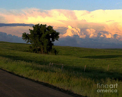 Photograph - North Dakota Sunset by Patricia Januszkiewicz