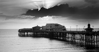 North Pier Art Print by Aetherial Pictography