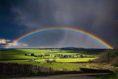 North Poorton Rainbow Print by Kris Dutson