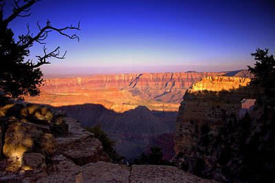 Photograph - North Rim Sunset by Ellen Heaverlo