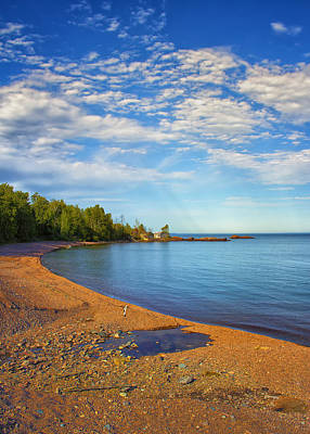 North Shore Beach Art Print