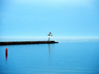 Photograph - North Shore Lighthouse by Bridget Johnson