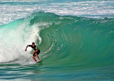 Photograph - North Shore Surfer by Dan McManus