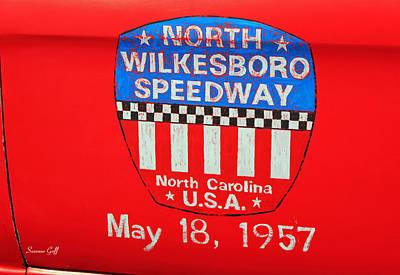 North Wilkesboro Speedway Art Print by Suzanne Gaff