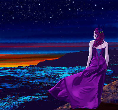 Whitby Digital Art - Northern Light by Vincent Danks