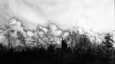 Northern Minnesota Storm Art Print by Hannah Ostman