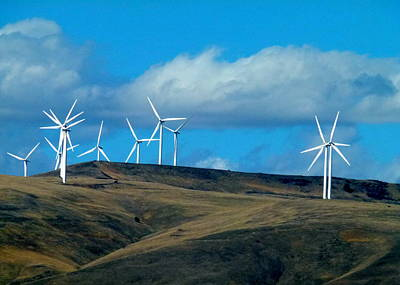 Photograph - Northern Oregon Wind Power by Cindy Wright