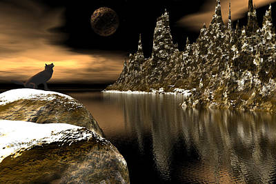 Digital Art - Northern Serenade by Claude McCoy