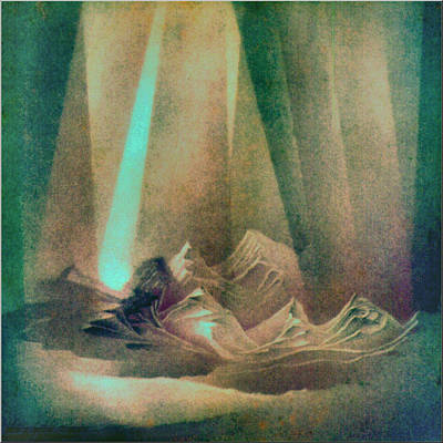 Pastel - Northernhorizon 1981 by Glenn Bautista