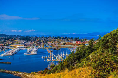 Art Print featuring the photograph Northwest Harbor by Ken Stanback