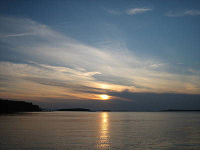 Wall Art - Photograph - Northwest Harbor Sunset by Debra LePage