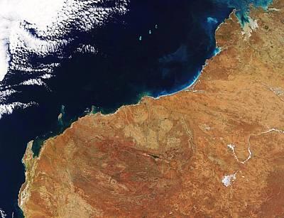 Northwestern Australia, Satellite Image Art Print by Nasa