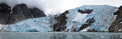 Photograph - Northwestern Glacier by Wes and Dotty Weber