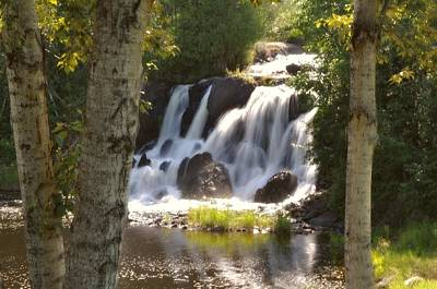 Word Signs - Northwoods Falls by Marty Koch