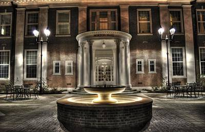 Photograph - Norton Hall Southern Baptist Theological Seminary by Greg and Chrystal Mimbs