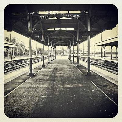 Victorian Wall Art - Photograph - #norwich #station... #victorian by Alexandra Cook