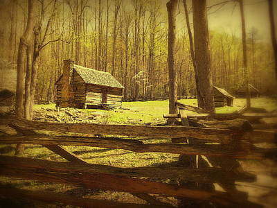 Split Rail Fence Photograph - Nostalgia by Cindy Wright