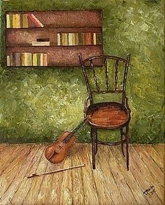 Painting - Nostalgia by Draia Coralia
