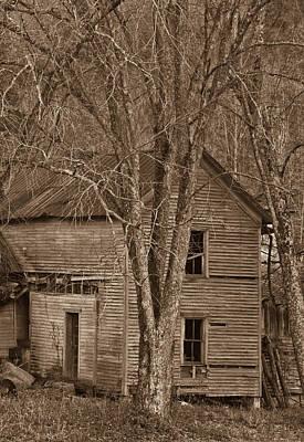 Nostalgic Farmhouse 5 Print by Douglas Barnett