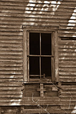 West Fork Photograph - Nostalgic Window by Douglas Barnett