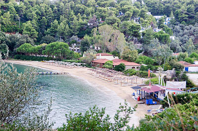 Photograph - Nostos Beach In Greece by Johnny Sandaire