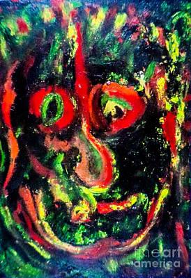 Not Just Another Pretty Face Art Print by Bill Davis