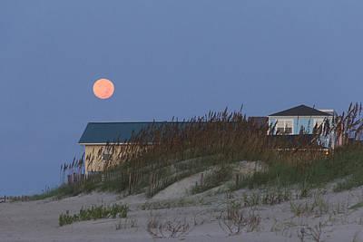 Photograph - Not So Blue Moon by Alan Raasch