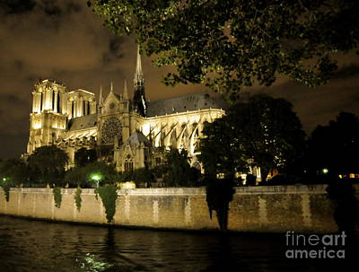 Photograph - Notre Dame Cathedral V by Louise Fahy