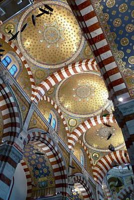Notre Dame De La Gard Art Print