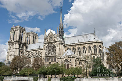 Notre-dame-de-paris I Art Print by Fabrizio Ruggeri