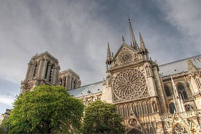 Art Print featuring the photograph Notre Dame De Paris by Jennifer Ancker