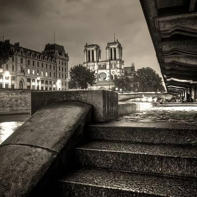 Notre-dame De Paris Print by Matthieu Godon