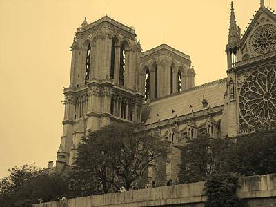 Photograph - Notre  Dame by Diane Height