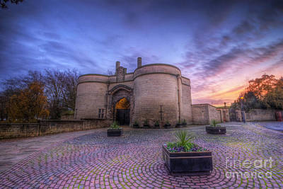 Photograph - Nottingham Castle Sunset by Yhun Suarez