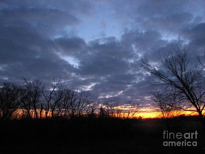 November Sunrise Art Print by Cedric Hampton