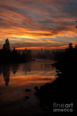 November Sunrise II Art Print by Beve Brown-Clark Photography