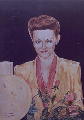 Drawing - Now Voyager by Bryan Bustard