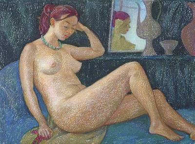 Nu 20 Art Print by Leonid Petrushin