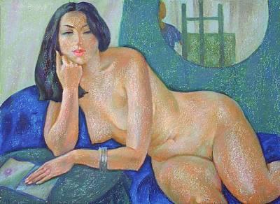 Nu 22 Art Print by Leonid Petrushin
