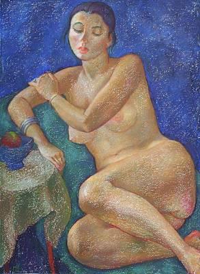 Nu 31 Art Print by Leonid Petrushin