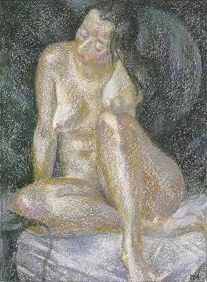 Nu 38 Art Print by Leonid Petrushin