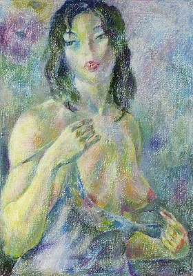 Nu 94 Art Print by Leonid Petrushin