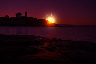 Photograph - Nubble Arise by Emily Stauring
