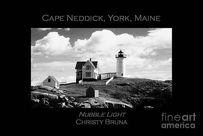 Nubble Light Art Print