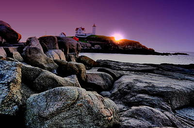 Photograph - Nubble Rocks by Emily Stauring