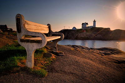 Photograph - Nubble Seat by Emily Stauring
