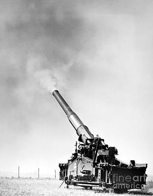 Photograph - Nuclear Artillery, 1950s by Granger